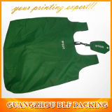 Green Nylon Shopping Bag