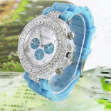 Promotional Wristwatch Silicone Gift Ice Watch (ABA-105)