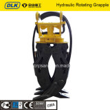 Hydraulic Excavator Wood and Rock Grapple for 12 Tons Excavator