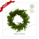 D50cm Plastic Decoration Artificial Wreath Christmas Wall Art