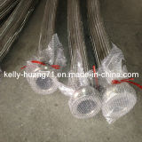 Ss304 316 Corrugated Stainless Steel Flexible Metal Hose with Fittings