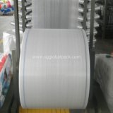 White Black Yellow Blue PP Woven Tubular Fabric Cloth in Roll