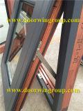 Aluminum Clad Oak Wooden Casement Window