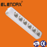 6 Way European 10/16A Power Extension Socket (E8006E)