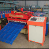 Glazed Tile Roofing Sheet Roll Forming Machine for Metal Corrugated Roof Panel