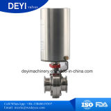 Stainless Steel Actuator Pneumatic Butterfly Valves with Explosion Proof