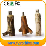 8GB Creative Stump Wood USB Flash Drive (EW029)