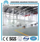 Customized Transparent UV PMMA Tunnel of Aquarium Company