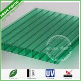 10mm Green Polycarbonate Twin-Wall Hollow Sheets 100% Virgin Bayer PC Boards Price