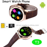 Hot Selling Touch Screen Mtk6260 Smart Watch Phone (T3)