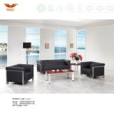 Office Set Designs Leather Sofa with Metal Legs (HY-S6013)