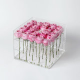 Factory Sale Customized Acrylic Preserved Flower Box