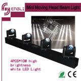 40W Four LED Mini Moving Head Beam Stage Light (HL-018BM)