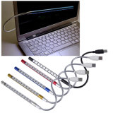 1PC Metal Material USB LED Light Lamp 10LEDs Flexible Variety of Colors for Notebook Laptop PC Computer