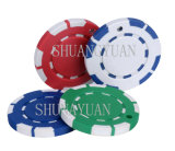 2.5g 2color 8spots Mini Poker Chips (SY-A02-1)