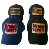 Custom Washed Baseball Cap with Applique (6PWS1231)
