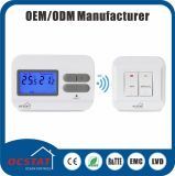 Wireless Room Thermostat Heating Radiator LCD Thermostats