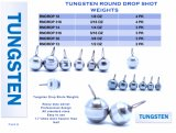 Standard Competitive Price Tungsten Punch Weights