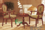 Wood Leisure Table with Wood Dining Chair (YF-AX609)