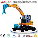 Best Seller 8t Wheel Crawler Excavator X8 for Sale with Yanmar Engine