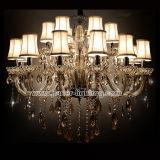 Top Luxury Hotel K9 Ceiling Crystal Chandelier Lamp Lighting