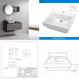 Good Design White Porcelain Above Counter Vanity with Cupc (SN121-120)