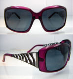 Plastic Fashion Polarized Sunglasses for Women