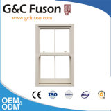 Powder Coated Crescent Lock Sliding Aluminum Double Hung Window