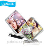 3D Crystal Photo Engraving with Sublimation Blank