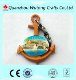 Custom Scenery Ship Anchor Design Resin Fridge Magnet Art Crafts