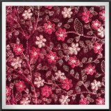 Multipurpose Velvet Embroidery Spandex Velvet Embroidery for Garment