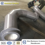 Resistance to Wear Ceramic-Lined Elbow Pipe Ceramic Tubing Suppliers