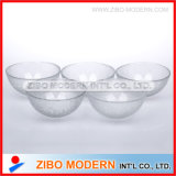 Glass Bowl with Skin Texture Effect