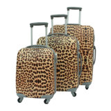 Leopard PC Luggage Travel Bag Suitcase (HX-W3597)
