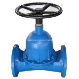 Cast Iron Diaphragm Valve with Rubber Lined
