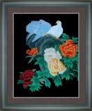 Silk Pictures - Flowers&Birds (BQ-HN03)