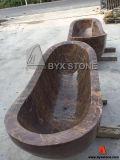 Dark Emperador Marble Polished Natural Stone Bathtub