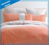 3 Piece Orange Color Shade Cotton Comforter Bedding