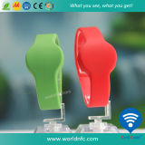 Factory Price Ntag213 RFID Silicone Wristband for Swimming Pool