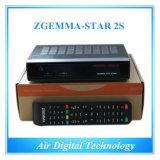 Linux OS Enigma2 DVB-S2+DVB-S2 Satellite Receiver Zgemma-Star 2s