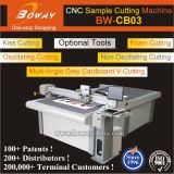 CB03 Plotting Kiss-Cut V-Cut Carton Box Rubber Cardboard Foam Flatbed CNC Sample Cutting Machine