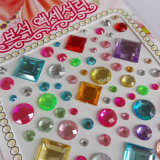 Acrylic Crystal Diamond Sticker for Mobile Phone
