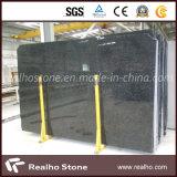 Polished Angola Black Granite Slab for Kitchen Countertops