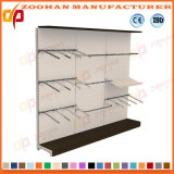 Single Side Supermarket Display Shelf Witn Hooks (Zhs648)
