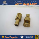 CNC Machining Small Brass Connectors