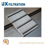 Flat Screen Panel for Liquid Filtering