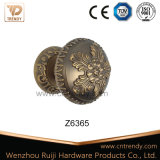 High Quality Zinc Alloy Patterned Round Door Lock Knob (Z6365-ZR11)