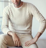 Men OEM Classic Cable Jersey Knitwear (M17-350)