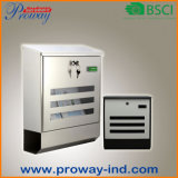 Wall Mounted Outdoor Waterproof Stainless Steel Mail Box (PW-653-SS)