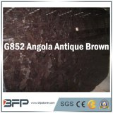 Brown Granite Polished Stone Floor Tile for Bathroom & Kitchen Flooring